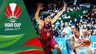 Philippines v Qatar - Full Game - FIBA Asia Cup 2017