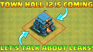 Town Hall 12 is Coming | Let's Talk about Th 12 Leaks | live Farming