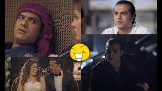 10 دقائق من الكوميديا 😂😂 مع النجم مصطفى أبو سريع في مسلسل الأب الروحي ... هتموت من الضحك