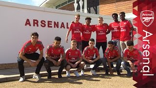 Inside the Arsenal Academy: A scholar's first day