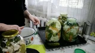ԽԱՌԸ ԹԹՈՒԾԱՂԿԱԿԱՂԱՄԲՈՎ-Овощное ассорти. заготовки на зиму-Pickled Veggies Recipe