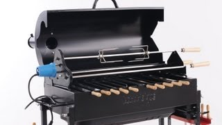 Brazilian Churrasco Rotisserie BBQ grill - Call 818-275-2414 - Kabobeque BBQ Grills