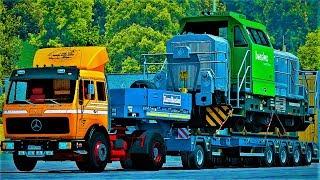 Euro Truck Simulator 2 (Mercedes NG 1632) (+Download) 1.27x
