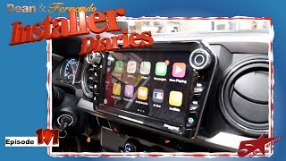A 2018 Toyota Tacoma Get A Stinger Elev8 Radio Put In Installer Diaries 197