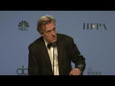 Hugh Laurie Golden Globes 2017 Full Backstage Interview