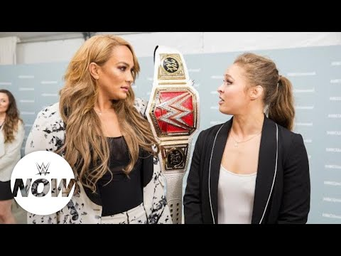 Xxx Mp4 Superstars React To Nia Jax Vs Ronda Rousey Money Match WWE Now 3gp Sex
