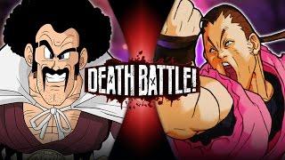 Hercule Satan VS Dan Hibiki (Dragon Ball VS Street Fighter) | DEATH BATTLE!