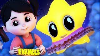 Twinkle Twinkle Little Star | Nursery Rhymes Songs | Kids Songs by Farmees