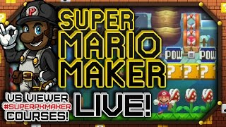 [LIVESTREAM] #SuperPKMaker || PKSparkxx Plays Viewer Super Mario Maker Courses! (11/13/16)