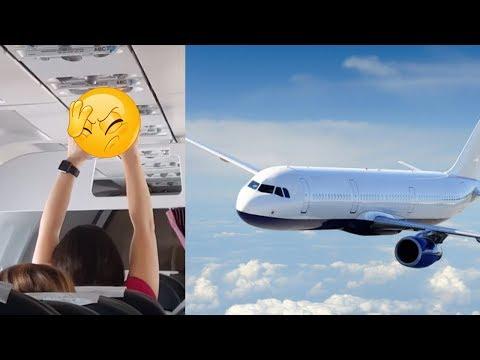 Wanita Tak Segan Mengeringkan Celana Dalam di Pesawat Terbang