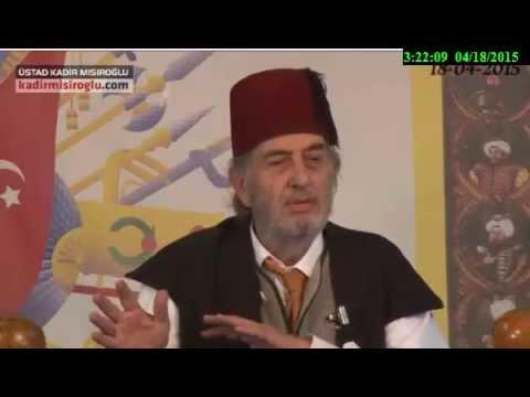 KAÇMAZZ Kadir Mısıroğlu nun İskenderpaşa cemaati hakkında söyledikleri. 18 4 2015