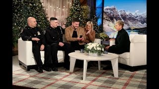 Couple Meets NYPD Detectives Who Found Missing Engagement Ring