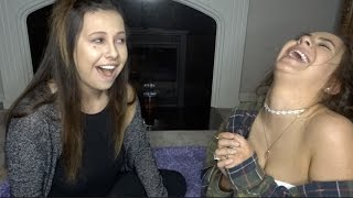 DRUNK MAKEUP TUTORIAL WITH MY SISTER