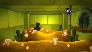 DuckTales Remastered - Swimming in a Full Money Bin (Before & After)