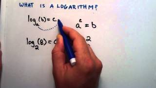 What is a Logarithm : Logarithms, Lesson 1