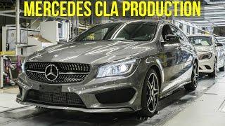 Mercedes CLA Production