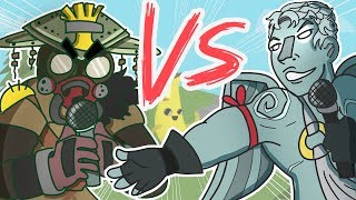 ♪FORTNITE vs APEX LEGENDS♪ (RAP BATTLE ROYALE ANIMATED)