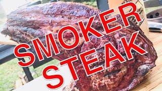 XXXL TOMAHAWK STEAK vom SMOKER 2,5 kg dry aged --- klaus grillt
