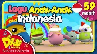 Lagu Anak Balita Indonesia | Pok Ame Ame & Lain-lain | Didi & Friends | 59 Menit