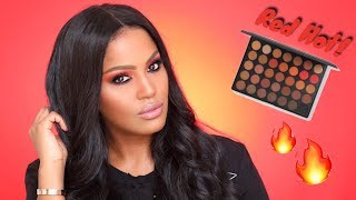 Red Hot Sultry Holiday Makeup Tutorial | MakeupShayla