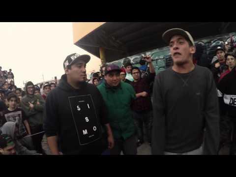 Klan MKS vs Traka Hereje Semis BajoCeroEdition Barras de Hielo Río grande