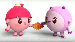 Малышарики - Обучающий мультик для малышей - Все серии подряд -  про Фигуры 🍬🍭