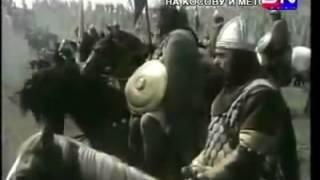 Pesma Kosovskih junaka, Boj na KOSOVU...