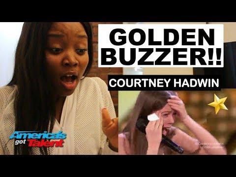 Xxx Mp4 Courtney Hadwin 13 Year Old Golden Buzzer REACTION America S Got Talent 2018 Ibukola 3gp Sex