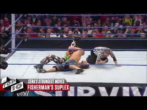 John Cena's Strongest Moves: WWE Top 10