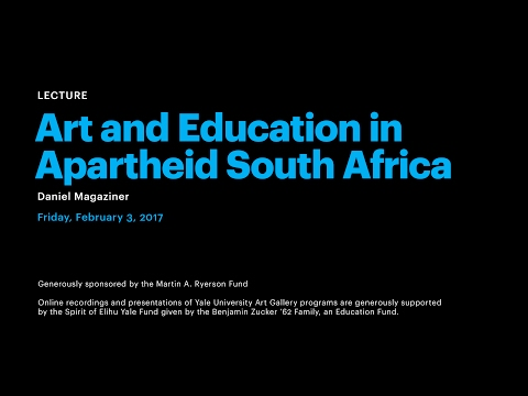 Art and Education in Apartheid South Africa