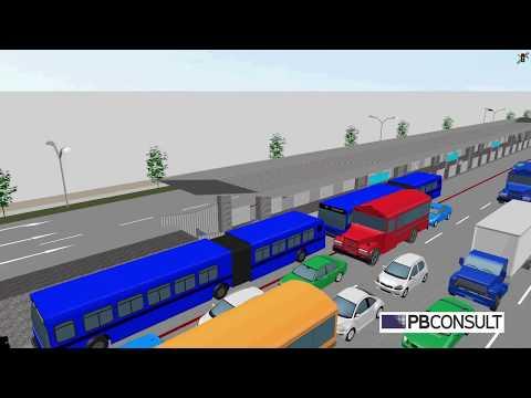 BRT Simulation Nairobi Kenya