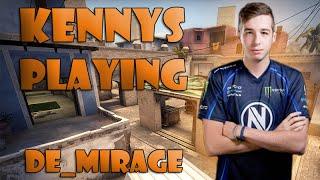 CS:GO - Team EnVyUs kennyS [38/17] Playing de_mirage