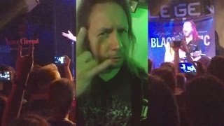 Kotipelto Liimatainen Live  Milano Blacoustic Tour 2016  - Lumia 950XL half concert