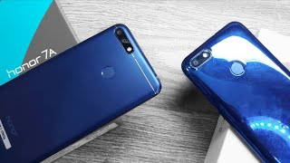 Honor 7a vs Yu Ace - Special Edition Blue Colour