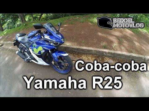 Coba-coba Yamaha R25 | Motor ngeraung.. | #MotoVlog Indonesia Mp3