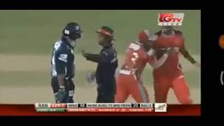 Mashrafe Mortaza vs Subashis Roy BPL 2017