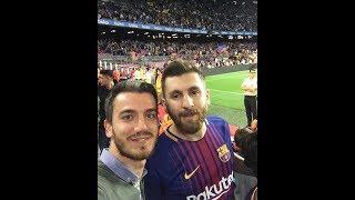 مسی ایرانی در بارسلونا و واکنش مردم اسپانیا