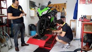 Kawasaki Ninja 300 Special Edition - Revisão Geral na Dual Moto Técnica