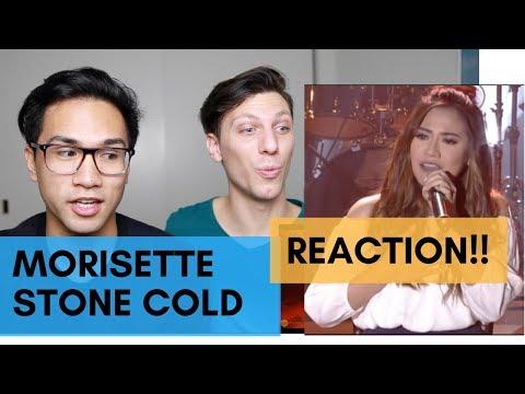 STONE COLD - MORISETTE AMON REACTION