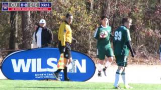 2016 National League - Boys - U16 - Village OT Branch vs Team Challenge - Field 4 - Day 2 - 12pm