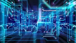 stock footage abstract technological background seamless loopable