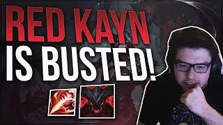 KAYN JUNGLE IS BUSTED I SWEAR!!   DYRUS