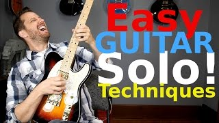 3 EASY Guitar Solo Tricks! - Learn to Solo With Confidence!