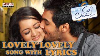Lovely Lovely Full Song With Lyrics - Lovely Songs - Aadi, Shanvi Srivastav, Anoop Rubens