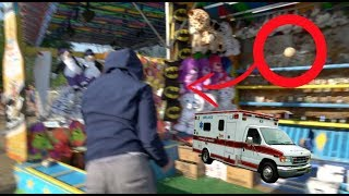 GETTING HURT AT THE CARNIVAL.....