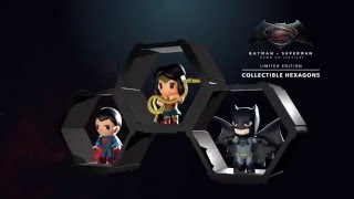 TGV Cinemas Limited Edition Batman V Superman Figurines