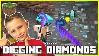 Randomly Digging to Diamonds   Minecraft