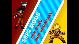 Ssf2 Mods, Goku (richard Mohos Ver) Super Sayan Mod Showcase