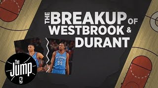 ESPN True Hardwood Story: The Breakup of Russell Westbrook and Kevin Durant   The Jump   ESPN