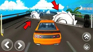 Car Crushing Speed Car Bumps Challenge Android Game Play - Car Game - Android Game